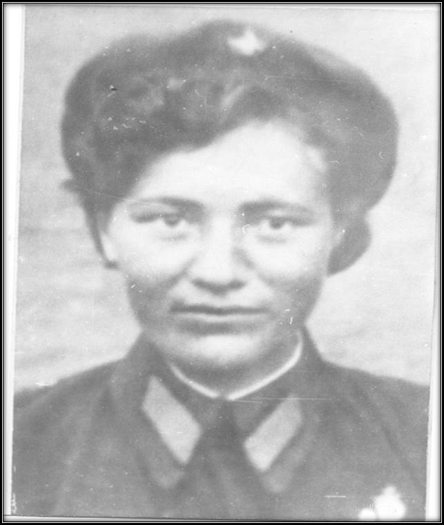 Сергеева Т. связистка полка